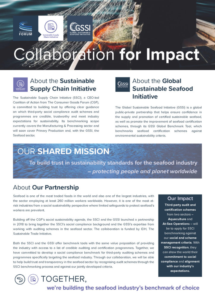 SSCI-GSSI Collaboration One-Pager