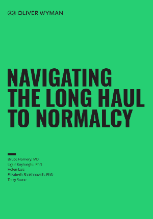 Navigating the Long Haul to Normalcy